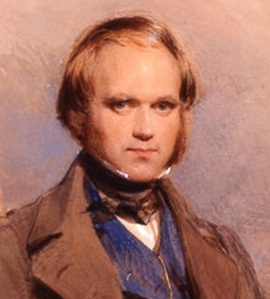 A young Charles Darwin